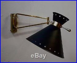 Applique 1950 lampe mid century lamp light 50's vintage
