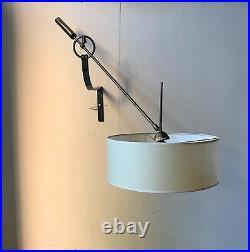Applique sconce maison arlus 1950s light lampe 50 luminaire french vintage lamp