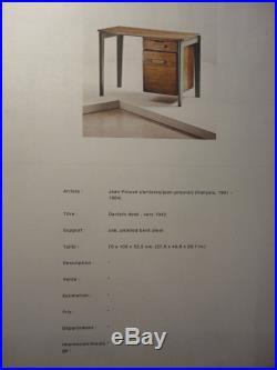 Authentique Bureau Dactylo Desk De Jean Prouve Vers 1942