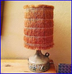 Authentique lampe en ceramique 1950 de Jacques Blin