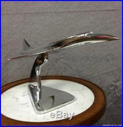 Avion Concorde en alu Trophée d'agence de voyage de 45 cm de long
