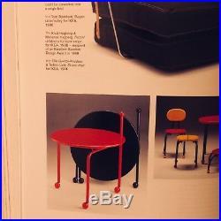 BJÖRKLUND / IKEA Table VINTAGE Guéridon dappoint Scandinave 1980 POSTMODERN