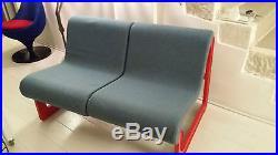 Banquette canapé sofa artifort vintage années 60 70 design