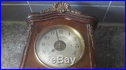 Beau petit carillon bulle clock avec bronze