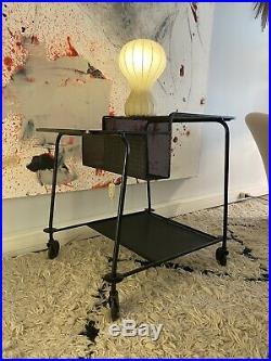Belle Desserte Bar Chariot de Mathieu MATEGOT Design Vintage 1950-1960