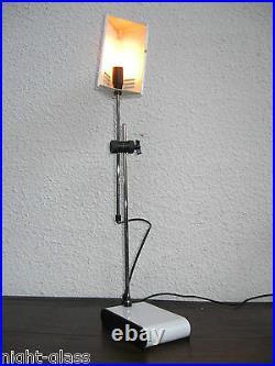 Belle Lampe Ancienne Orientable Métal/années 1970/dans Le Gout De Joe Colombo