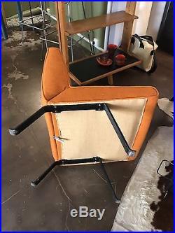 Belle Paire De Chauffeuses De Joseph Andre Motte -design- 1950-1960