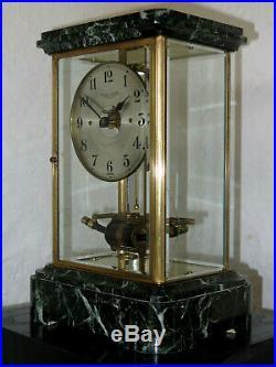 Belle pendule electrique BULLE CLOCK marbre (no Ato, Brillié)