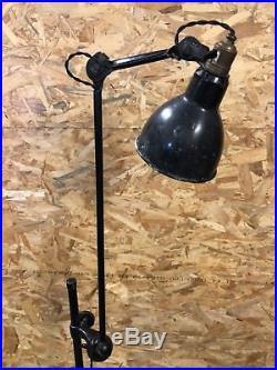 Bernard Albin Gras, Rare Lampe Modèle 215 Ravel 1930