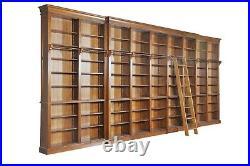 Bibliothèque de 600x 290 cm en orme