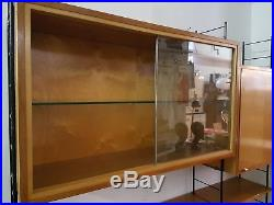 Bibliothèque étagères vintage des années 60 String MCM scandinave