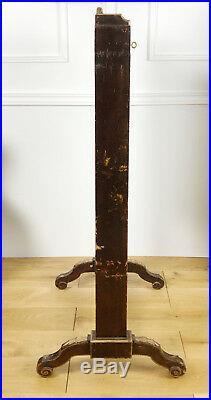 Billet Doux / Secretaire En Portefeuille Napoléon III En Vernis Martin De 119cm