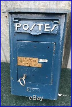 Boîte Aux Lettres Ancienne Foulon Paris Époque 1950 / Deco / Industriel / Loft