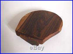 Boite alexandre noll pearl pill box rangement bois 1950