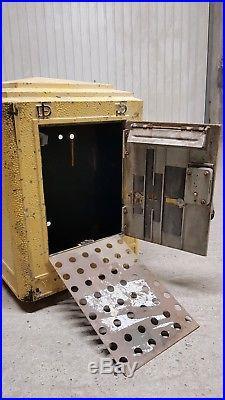 Boite aux lettres ancienne PTT LA POSTE 1951 DEJOIE vintage loft industriel