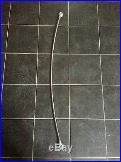 Bras liseuse JIELDE cintré 120cm 1m20 + visserie et onduflex