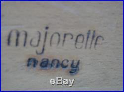 Buffet Art Déco Majorelle Nancy En Placage De Palissandre