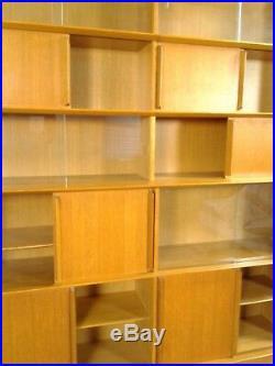 Buffet enfilade bibliotheque Rozaffi meubles Oscar moderniste design