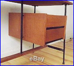 Bureau années 50 60 en bois VINTAGE DESIGN 1950 1970 ERA