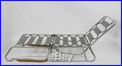 CARUELLE Design Fauteuil extensible en lit de repos Art Déco armchair