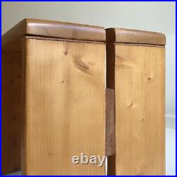 CHARLOTTE PERRIAND LES ARCS Tabouret Vintage Little Bench Stool Chapo Meribel