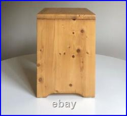 CHARLOTTE PERRIAND Tabouret Les Arcs Pin Massif Chalet French Vintage Design 60