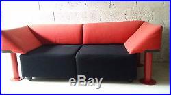 Canapé banquette sofa vintage années 70 80 Artifort Memphis design