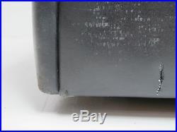 Canape Sofa De Sede DS76 vintage cuir noir