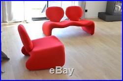 Canapé & fauteuil Djinn d' Olivier Mourgue pour Airborne vintage design