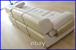 Canapé & fauteuil de Gian Pierro Arosio édition D. A. S 1970 paulin Perriand