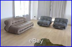 Canapé & fauteuils Soriana de Tobia Scarpa édition Cassina cassina vintage