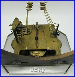 Carillon Odo N° 24 westminster 8 tiges 8 marteaux art-déco pendulum chime clock