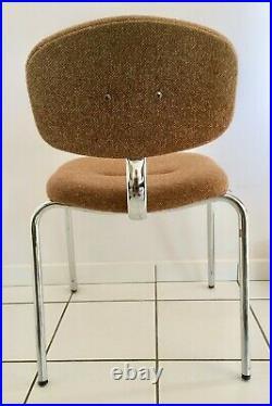 Chaise Design Pierre Paulin Steelcase Strafor Vintage 1970 1980