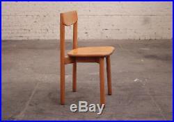 Chaise en bois Pierre Gautier-Delaye Modèle Grain de Café