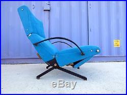 Chaise lounge P40 fauteuil osvaldo borsani tecno loungechair