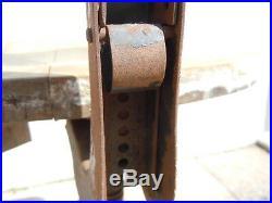 Chaise tabouret atelier tabouret Patent no prouve vers 1950