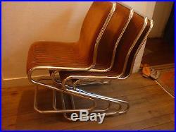 Chaises design vintage des années 60/70
