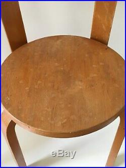 Chaises modèle 66 Alvar AALTO Lot 2 chaises, possible 4