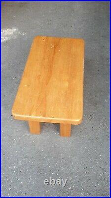 Charlotte Perriand Coffe table basse circa 1960 brutaliste/moderniste en pin