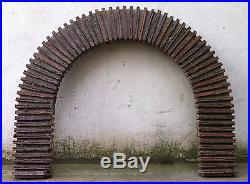 Cheminée fireplace french 50' jean royere design deco 1950 rare mid century deco
