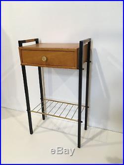 Chevet Vintage des Années 50's 60's Hitier meuble d'appoint Guariche 2