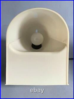 Cini Boeri, Stilnovo, Rare Lucetta table or wall lamp (Joe Colombo, Kartell era)