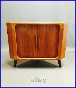 Commode D'angle Teck Design Scandinave Bramin 1950