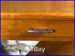 Console style Art déco à 2 tiroirs