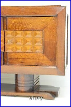 Crédence Enfilade Charles Dudouyt Art Déco Années 1930 Brutaliste