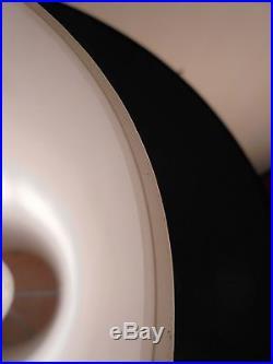 Design Vintage 80 Rare Lampe Verrerie & Tissu DLG MURANO Mazzega Carlo NASON