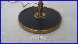 Design lampe de parquet lampadaire Art déco design floor lamp Lunel