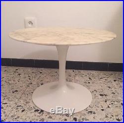 Eero Saarinen Table Basse / Gueridon Pour Knoll Era Guariche Perriand Jouve