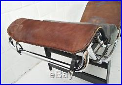 Early Number -550! Original Le Corbusier Chaise Longue Chair Lc4 Cassina Liege