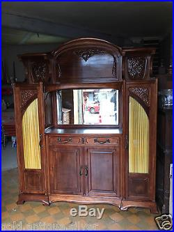 Ecole De Nancy Gauthier Poinsignon Meuble Art Nouveau Epoque Majorelle Mucha